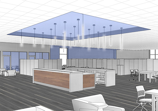Grand Glaize Branch - Service Desk Rendering
