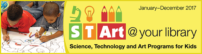 STArt @ your library - Science, Technology and Art Program for Kids
