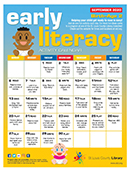 Early Literacy Activity Calendar for December 2020 - Birth to Age 2