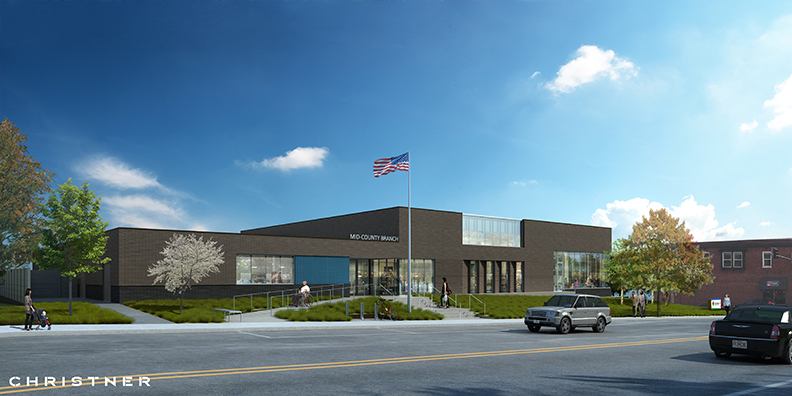 Mid-County Branch Rendering