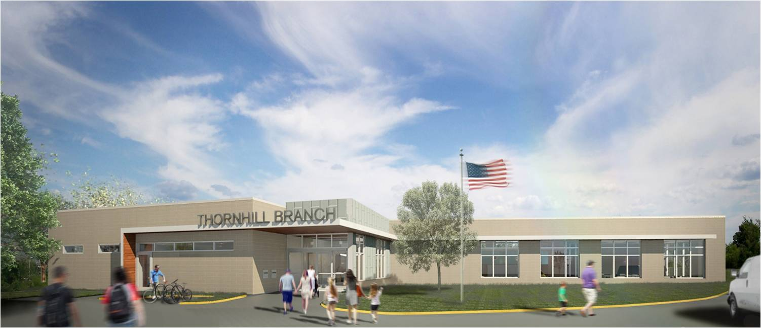 Thornhill Branch Renderings